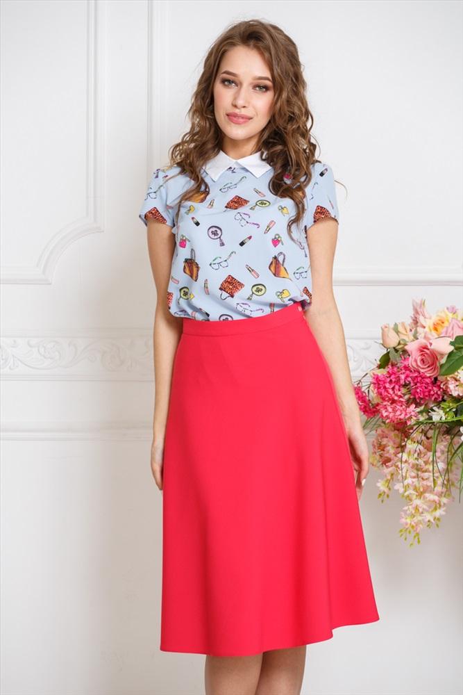 Платье блузка с юбкой