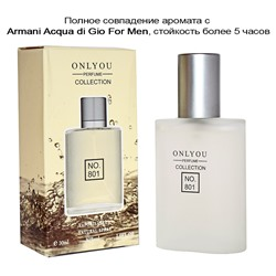 Мини парфюм Armani Acqua Di Gio For Men, (Only You Perfume Collection) 30ml